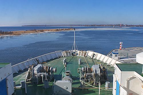 Паром Калининград Санкт-Петербург - выгодные цены доставки груза